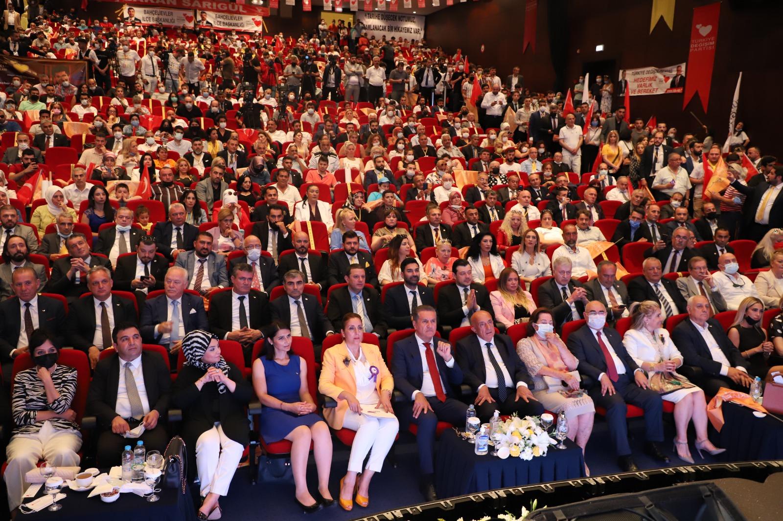 Türkiye Değişim Partisi İstanbul 1. Olağan İl Kongresi